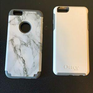 2 iPhone 6s+ cases
